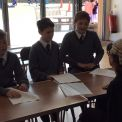 Years 5 & 6 learn more about their rights and responsibilities, in a workshop on the UK's legal system.