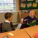 Children get a chance to interview each other