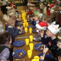 RM enjoy a festive Christmas lunch!