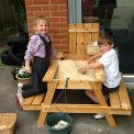 Reception enjoy the Outdoors