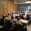 Year 6 celebrate their hardwork with a pizza-making trip to Pizza Express