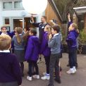 Year 5 balloon workshop with Epsom College
