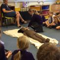 Year 3 investigate mummification at Haslemere Museum