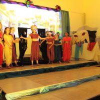 Key Stage 2 present Aladdin