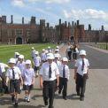 Year 3 visit Hampton Court Palace
