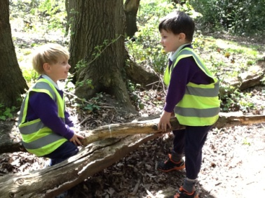 Kindergarten at Forest School: 5 May