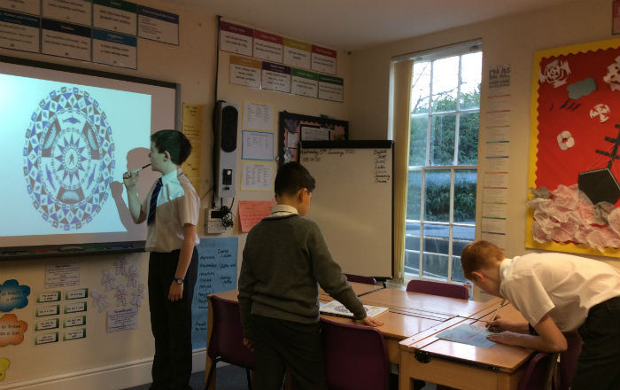 Year 6 immerse themselves in Shackleton's Journey