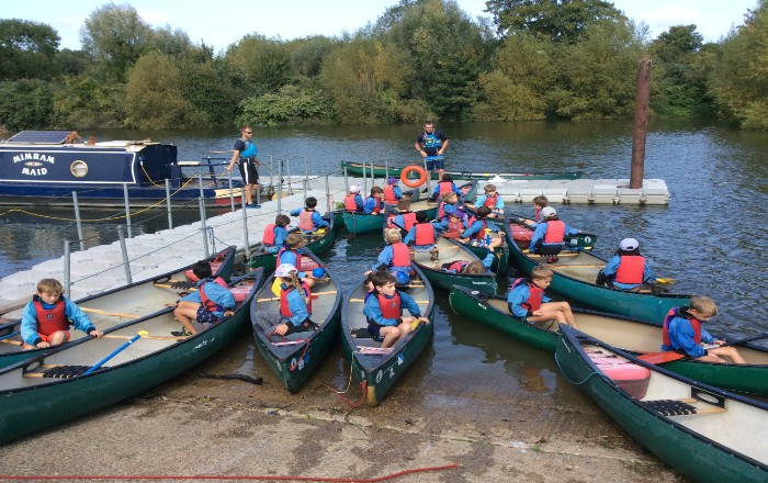 Year 4 Residential to Thames Young Mariners