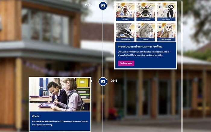 View our School Developments timeline