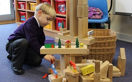 Watch a video of Kindergarten's Construction Time afternoon sessions