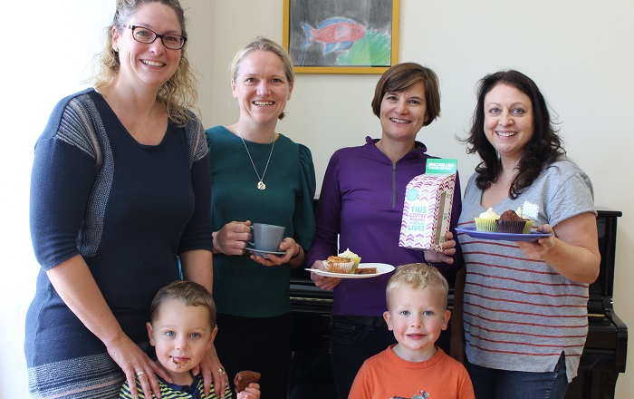 Coffee Morning raises £150 for Macmillan Cancer Support
