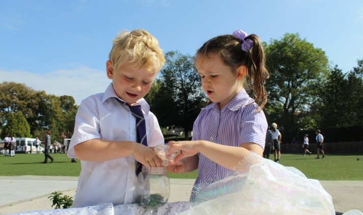 Reception prepares for Year 1