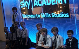 Weston Green Create Recordings at Sky Sports Studios