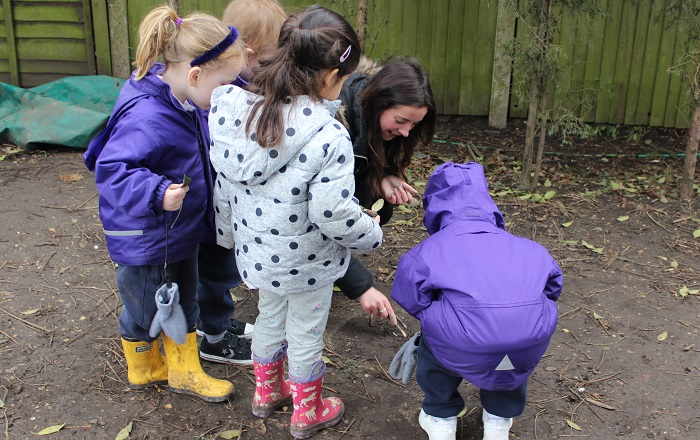 Video: Reception Induction Morning and Introduction to Forest School