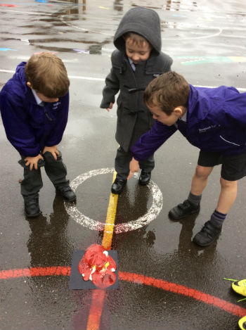 Volcanic activity in year 1