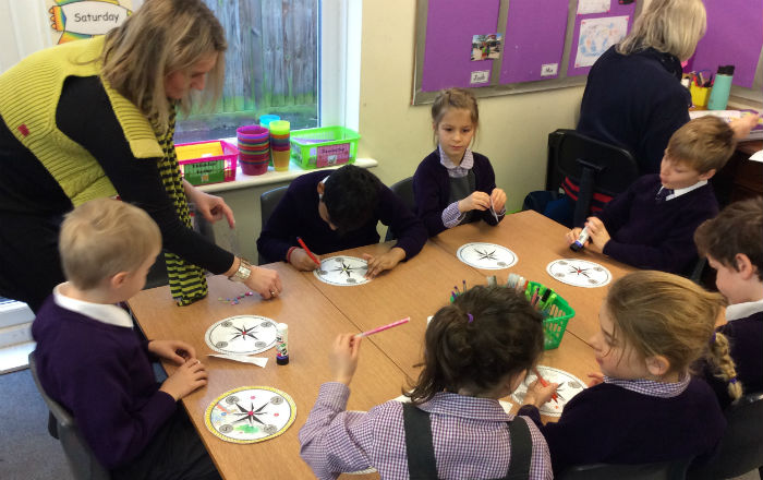Year 1 and Year 2 Button Books workshop