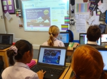 Year 6 love the new Abacus Active Learn website!