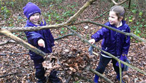 Spring is coming to Forest School