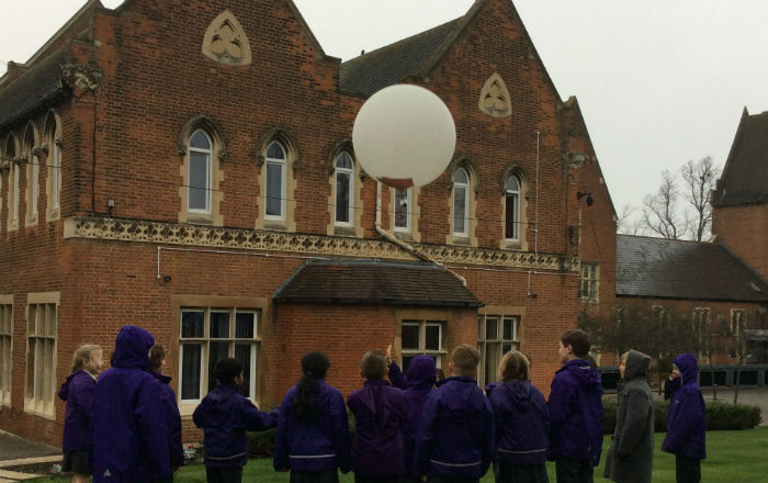 Up, up and away with Year 5 at Epsom College