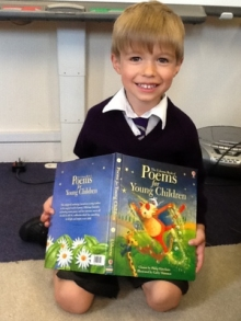 Poetry please in Reception!